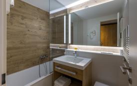 bathroom in M Hotel