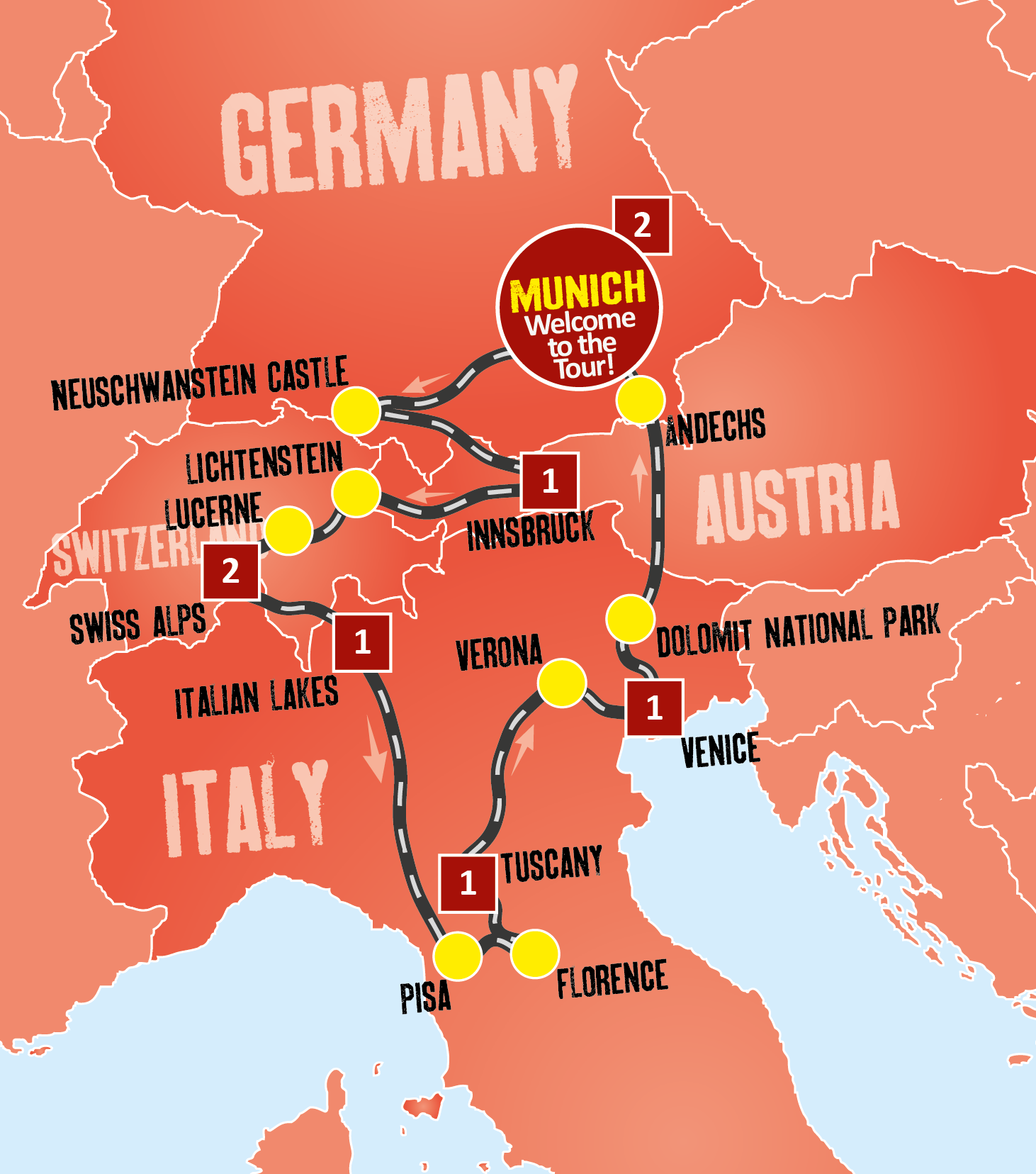 Swiss Tour Packages Europe Coach Tours From Munich Expat Explore