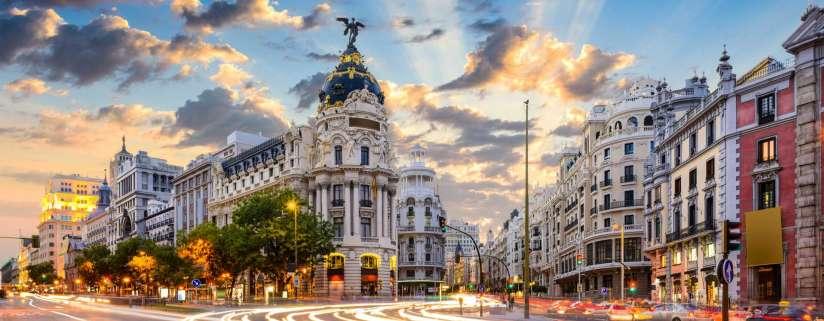 Arrive in Madrid