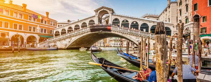 Arrive in Rome - Venice