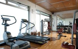 gym at Hotel Complex Ambasciatori & Delfino, venice italy