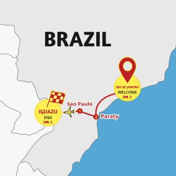 Brazil & Iguazu Highlights - Tour Rio de Janeiro to Iguazu Falls