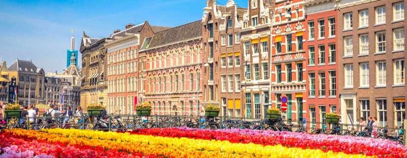 London - Belgium - Amsterdam