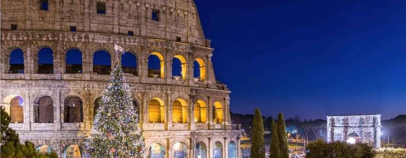 Arrive in Rome