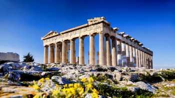 Corinth Canal - Athens city tour - Acropolis (optional) - Mykonos