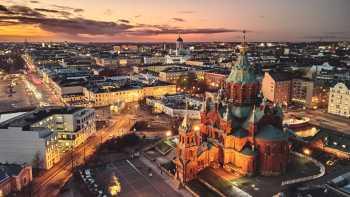Arrive in Helsinki