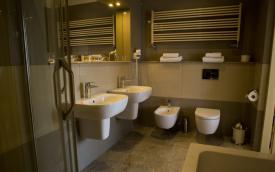 Bathroom in Hotel Polonia