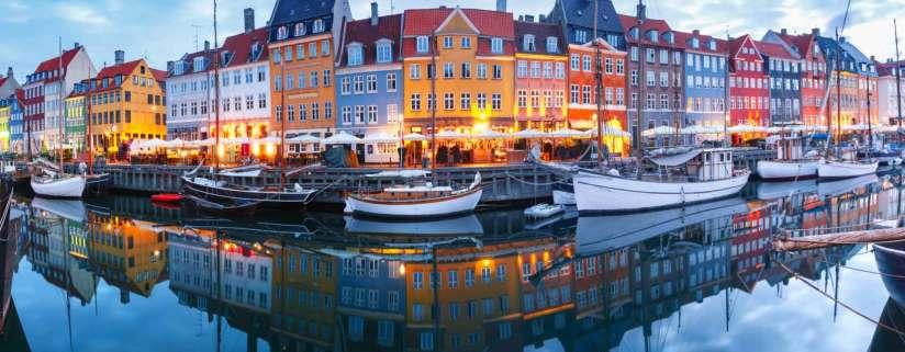 Arrive in Copenhagen