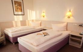Carat HotelTraube Rudesheim Rhiney Valley Germany hotel room