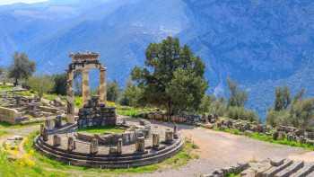 Delphi - Trizonia island - Olympia