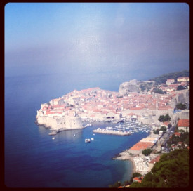 aerial view of dubrovnik croatia - tour to croatia
