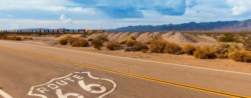 Williams, AZ - Route 66 - Oatman, AZ - Las Vegas, NV