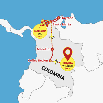 Best of Colombia - 12 Day Tour