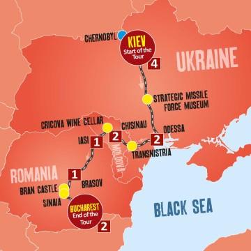Romania, Moldova & Ukraine