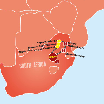 Kruger Safari And The Panorama Route