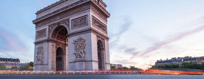 London - Somme - Paris