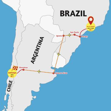 Brazil to Chile Explorer - Tour Rio & Santiago