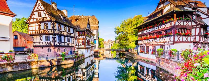 Swiss Alps - Strasbourg - Heidelberg