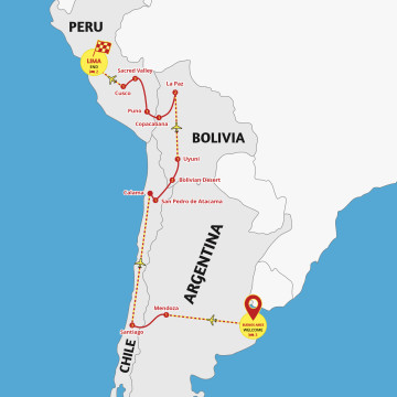 Best of Argentina to Peru - Tour Buenos Aires to Lima