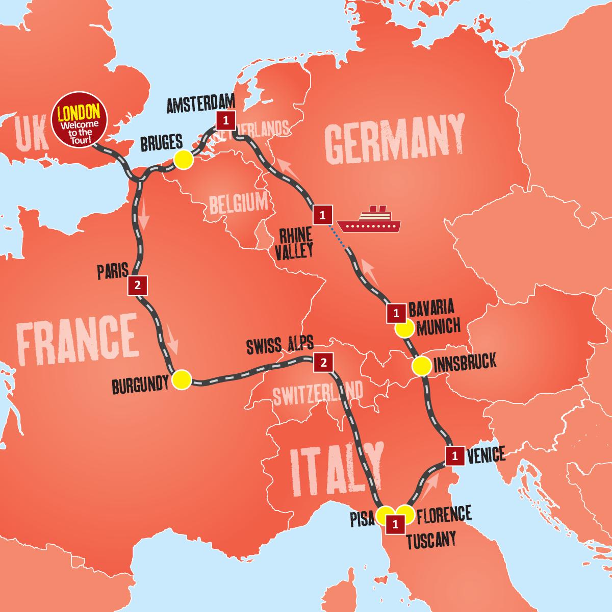 Europa Tour