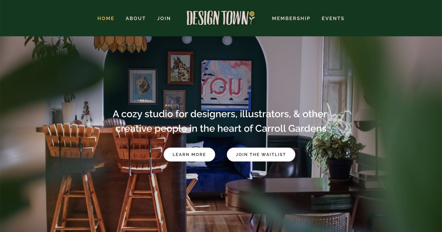 designtown-website
