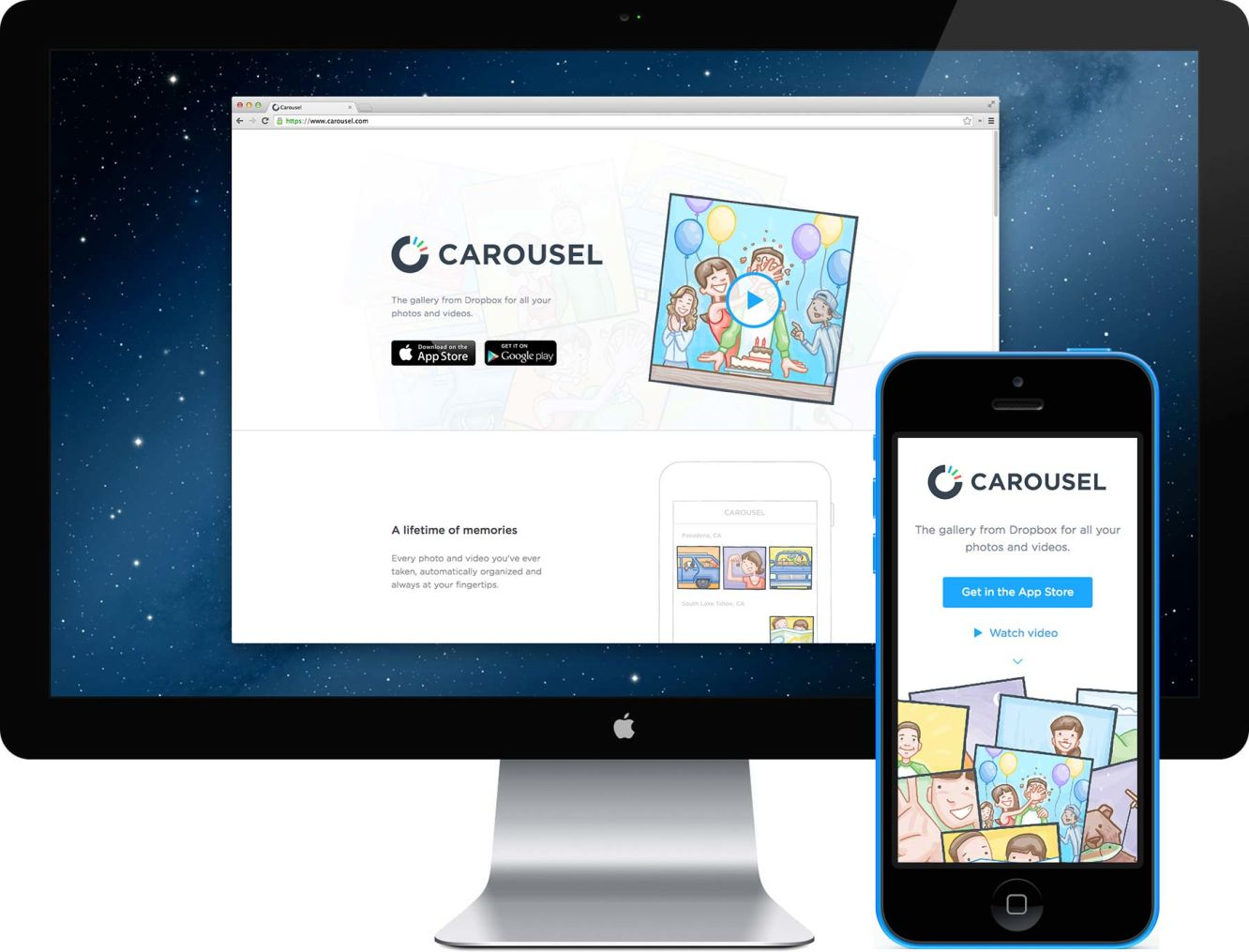 Carousel devices