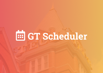 GT Scheduler Fall 2020 Thumbnail