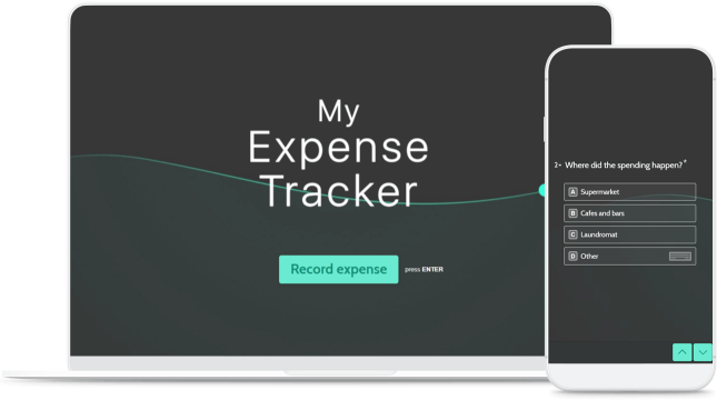 device personal expense tracker