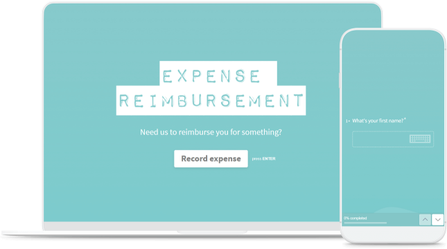 free online expense reimbursement form typeform templates