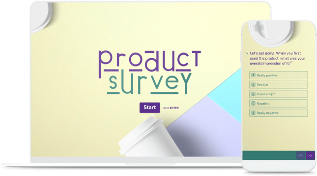 device product feedback survey