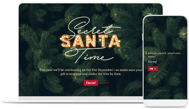Secret Santa Form