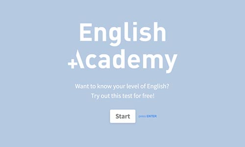 Online English Placement Test Template | Typeform Templates