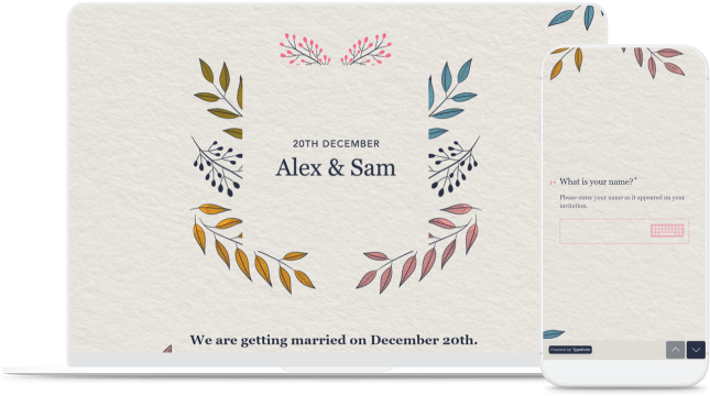 device wedding invitation