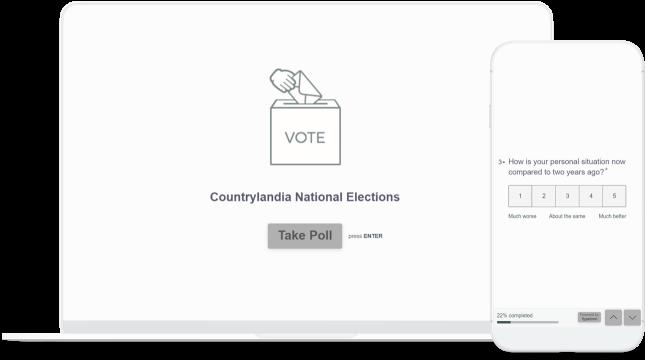device political poll
