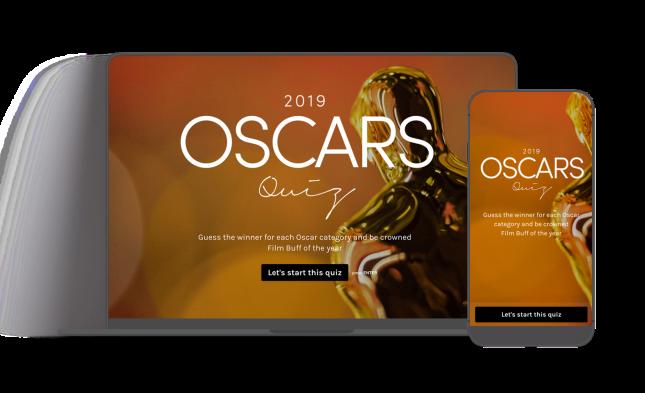 Oscars Quiz 2019 Header Image