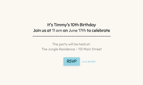 free online party invitation template typeform templates