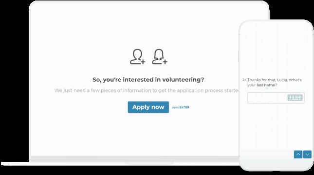 free volunteer application form template typeform templates