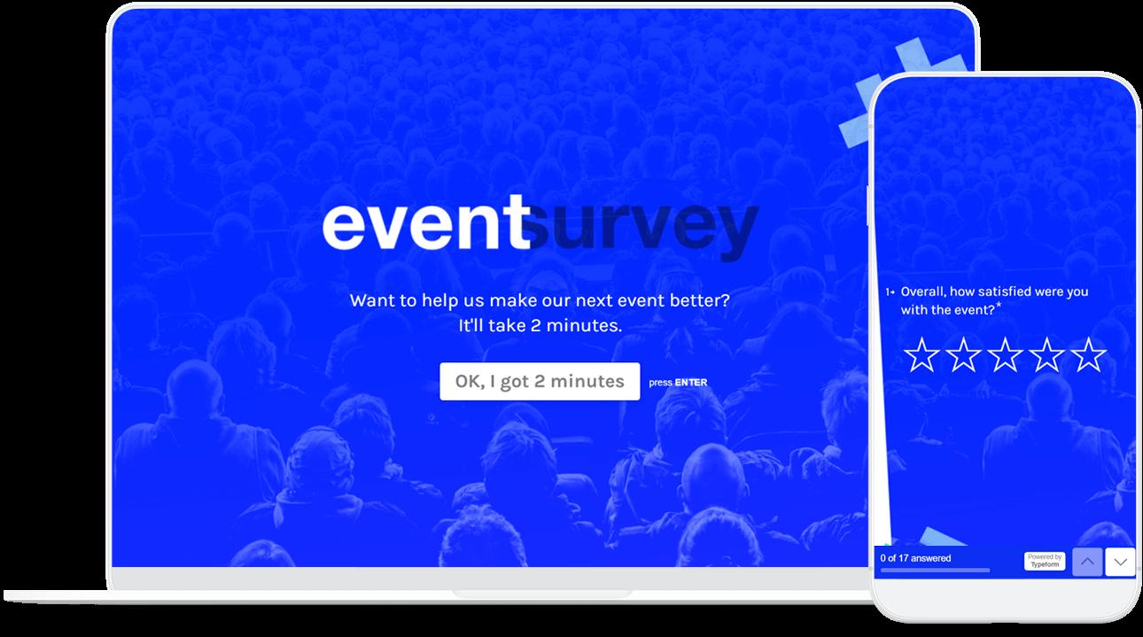 Post-Event Satisfaction & Feedback Survey | Typeform Templates