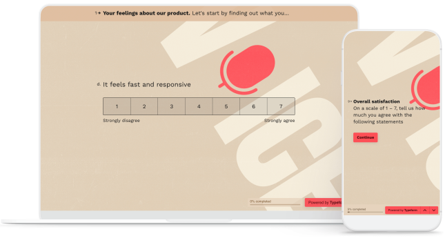 Voice of the Customer Survey Template Devices