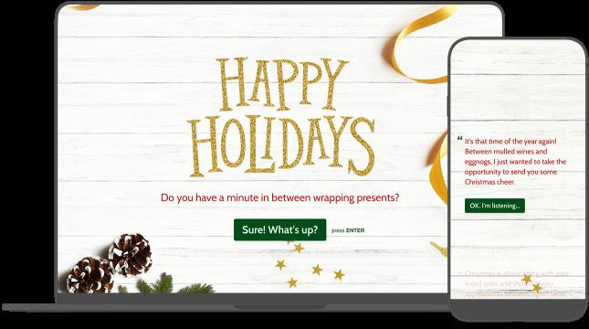 Christmas eCard Template