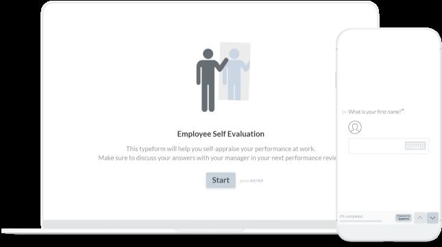 Create Employee Self Evaluation Forms Typeform Templates