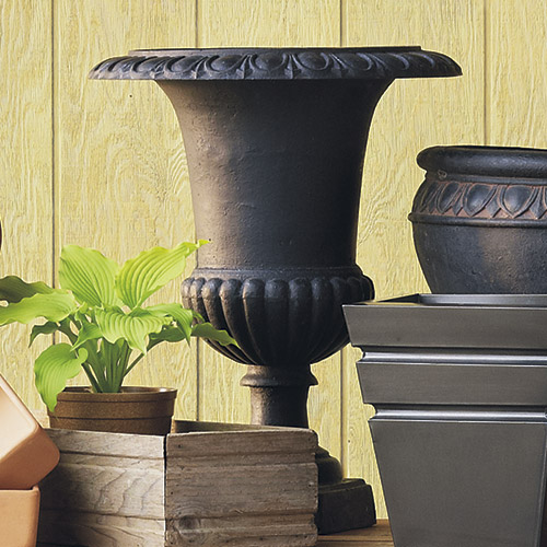 cast-iron-garden-container: Cast-iron garden containers are a timeless choice, and they last for a long time, too.