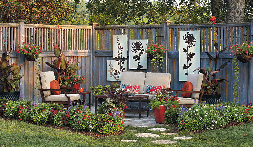 Looking For A Space Saving Way To Add Color To Your Patio? The Right Plants  Can Become The Perfect Complements To An Outdoor Patio In Your Yard; ...