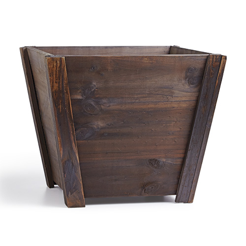 wooden-garden-container: Wooden garden containers can be purchased, upcycled or handmade for a personal touch.