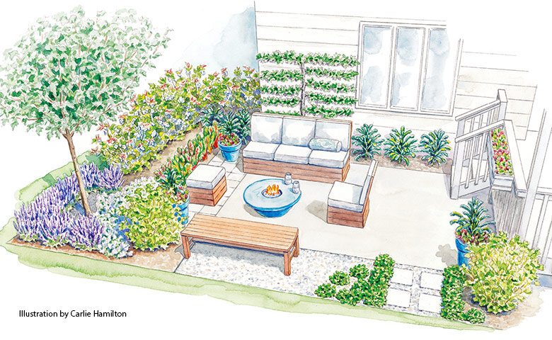 patio-garden-design-with-vegetables-lead