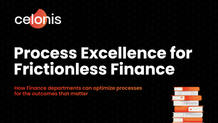 E-Book: Process Excellence for Frictionless Finance - preview image