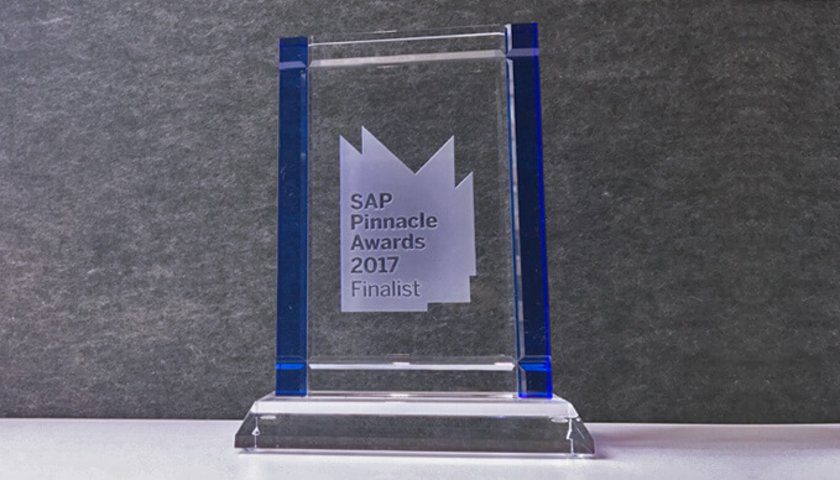 Celonis Named a Finalist for 2017 SAP® Pinnacle Awards