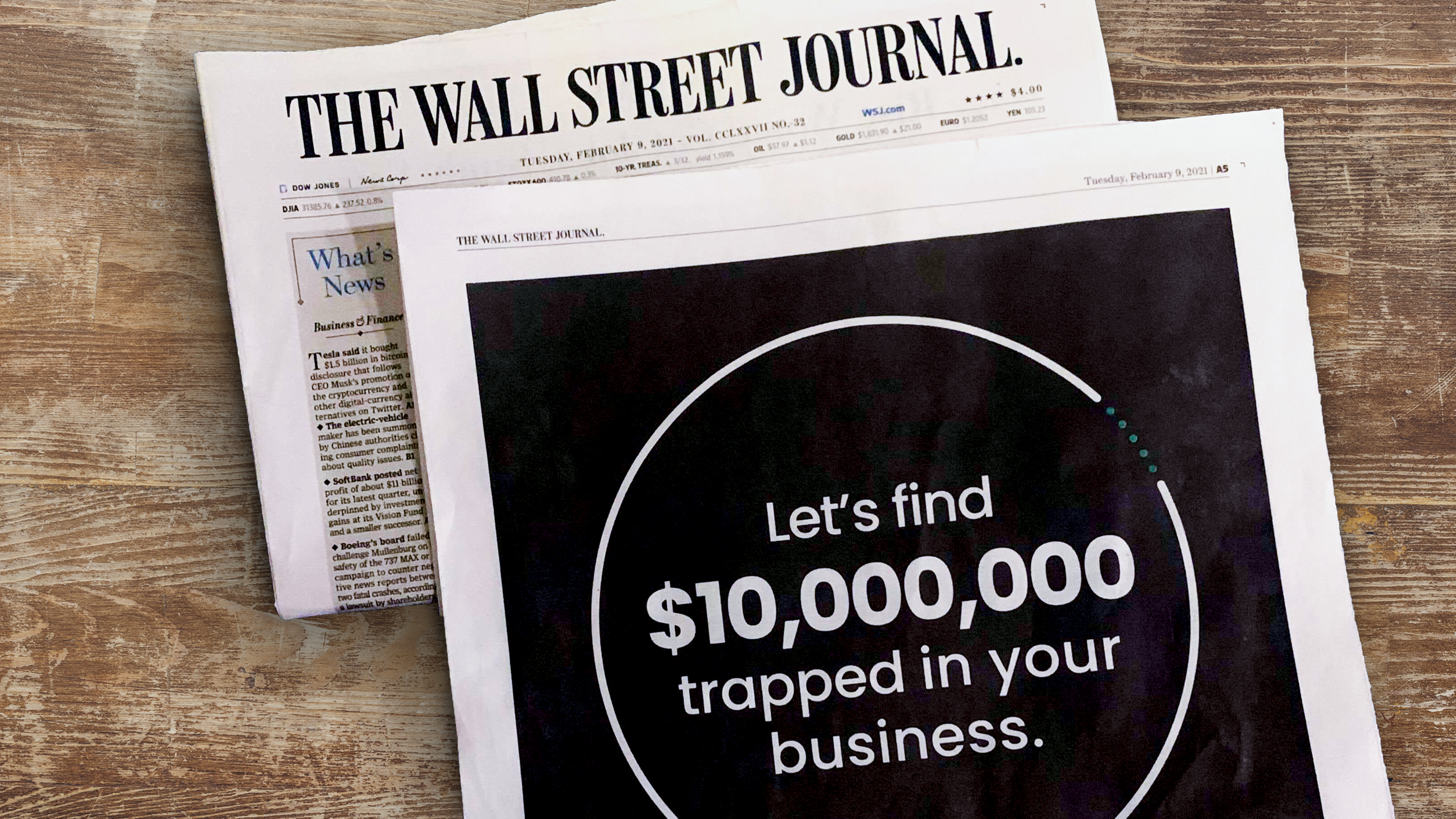 WSJ Blog Header