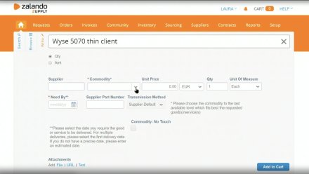 Zalando - Enhancing Procurement with ML-powered Suggestions