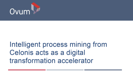 Ovum Intelligent Process Mining report - preview image